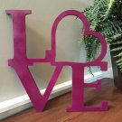 Love Wooden Monogram