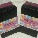 "Just the Right Shoe Collectible 3"" Shoes w Boxes Touch of Lace and Wave 2 Shoes"