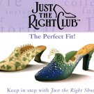 "3 Shoes Just the Right Shoe Collectible 3"" Shoes 2-Touch of Lace & 1 Wave Shoe"