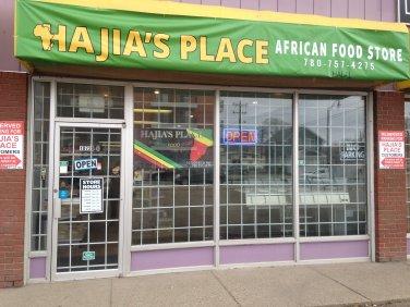 Hajia's Place(African Food Store) - Edmonton, Alberta Canada