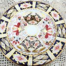 ROYAL CROWN DERBY PLATE IMARI BREAD PLATE