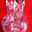 ABP GLASS PITCHER AMERICAN BRILLIANT GLASS PITCHER LIBBEY
