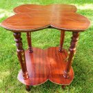 ANTIQUE MAHOGANY TABLE VINTAGE ADAMS MAHOGANY PARLOR TABLE
