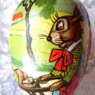 VINTAGE EGG WEST GERMANY CANDY DISPENSER PAPER MACHE