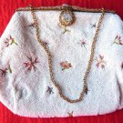 VICTORIAN MICRO BEAD PURSE GLASS BEADS