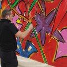 ROBERT JENNINGS ART BLACK LIGHT ART LOFT ART GLOW IN THE DARK PAINT NIGHT CLUB