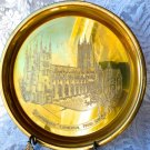 VINTAGE CANTERBURY CATHEDRAL BRASS