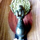 COLONIAL DRAWER PULL REVIVAL DOOR PULL CAST IRON MARY WILLIAMS DOOR DROP PULL