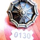 GOTHIC DRAWER PULL KBC HARDWARE VINTAGE CABINET BAIL RING PULL SPIDER WEB
