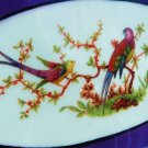 PRUSSIA PLATE ROYAL RUDOLSTADT PLATE RELISH DISH ASIATIC BIRD