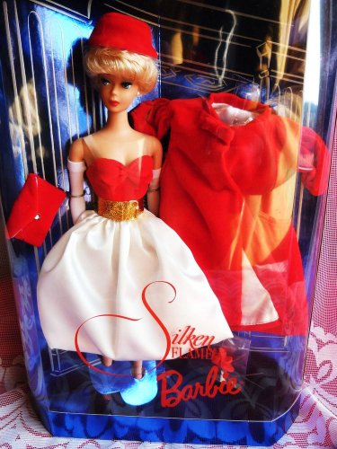 BARBIE SILKEN FLAME 1962 DESIGN