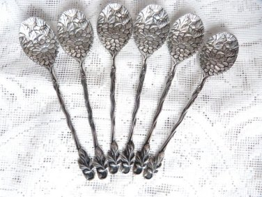 SILVER SPOONS FLOWER SCRIBED HAND CHASED DAISY FLOWER CUTLERY