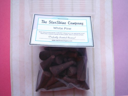 HEARTS WITH FLOWERS Premium Hand Dipped Incense Cones