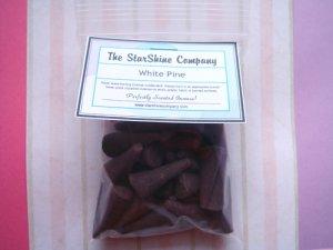 WHITE PLUM CHUTNEY Premium Hand Dipped Incense Cones