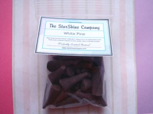 WILDBERRY ZINGER TEA Premium Hand Dipped Incense Cones
