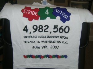 Stride 4 Autism T-Shirt adult and youth sizes~~ FREE SHIPPING!!