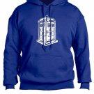 Doctor Who Hoodie Sweatshirt Royal Blue