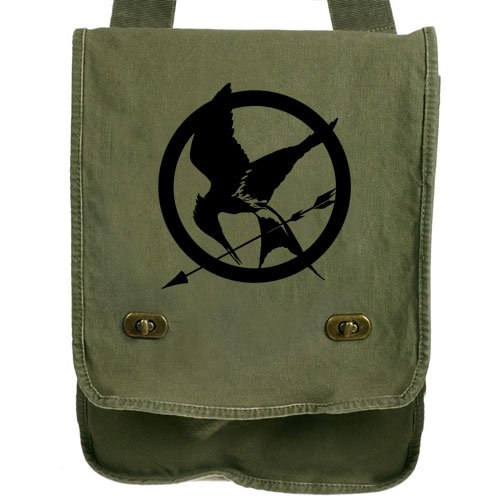 Hunger Games Green Messenger Bag