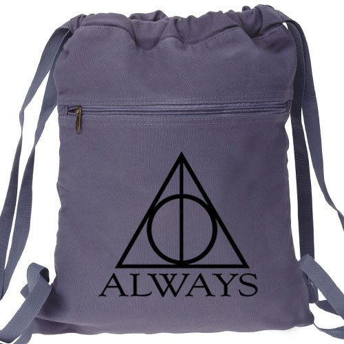 Always Harry Potter Blue Backpack - Deathly Hallows
