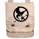 Cream Hunger Games Messenger Bag