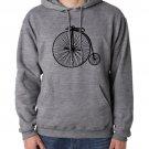 Vintage Bicycle Gray Sweatshirt Hoodie