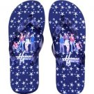 Hannah Montana Flip Flop Sandals~Black Size Large