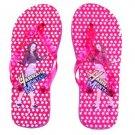 Hannah Montana Flip Flop Sandals~Red Size Large