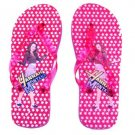 Hannah Montana Flip Flop Sandals~Red Size Extra Large