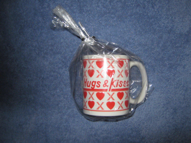 Peony Hugs and Kisses Coffee Mug Candle