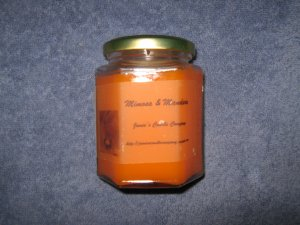 Mimosa & Mandarin 12 Ounce Hexagon Jar Candle