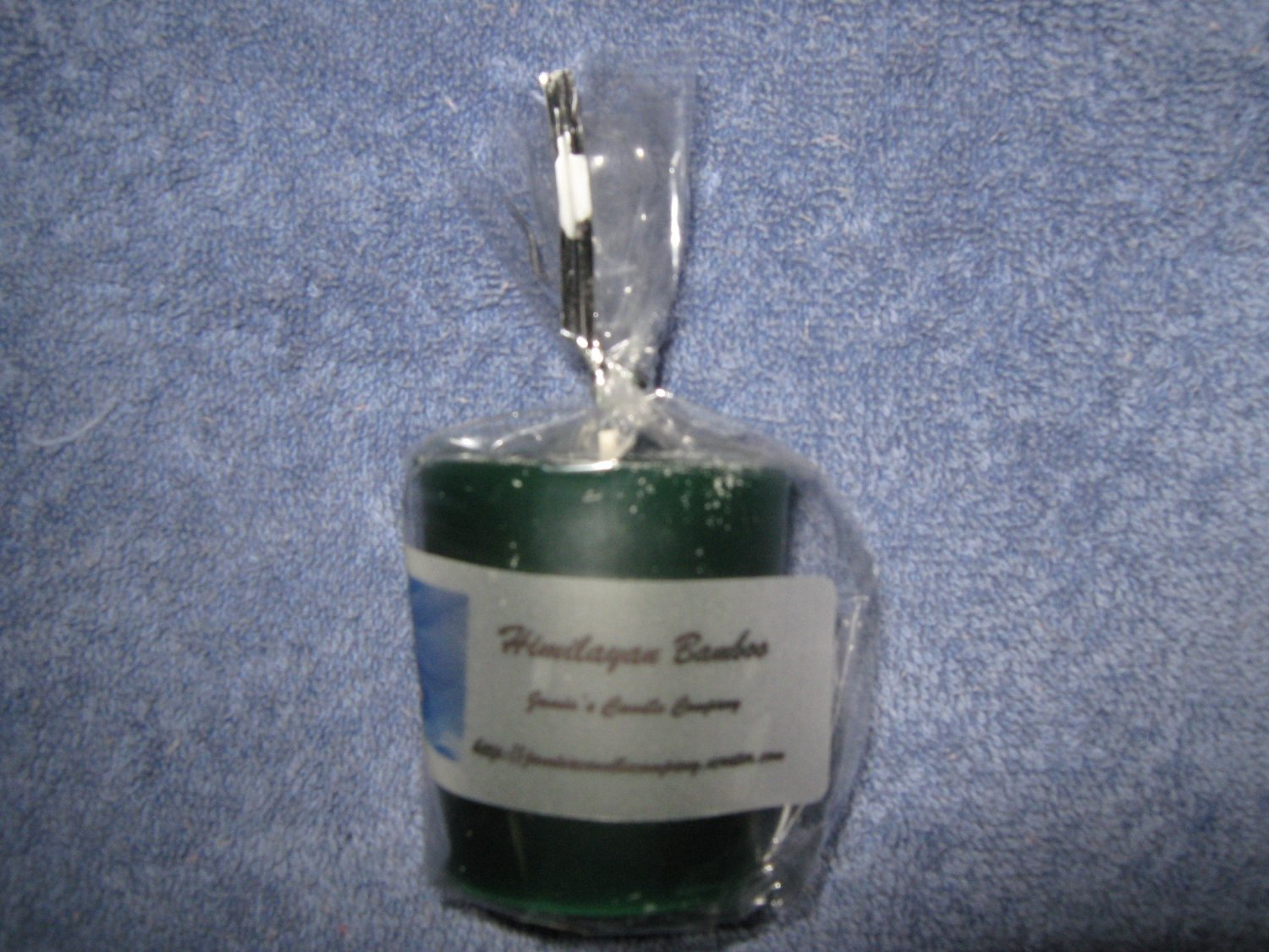 Himilayan Bamboo Votive Candle