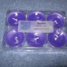 Unscented Lavender 6 Pack Tealight Candle Set