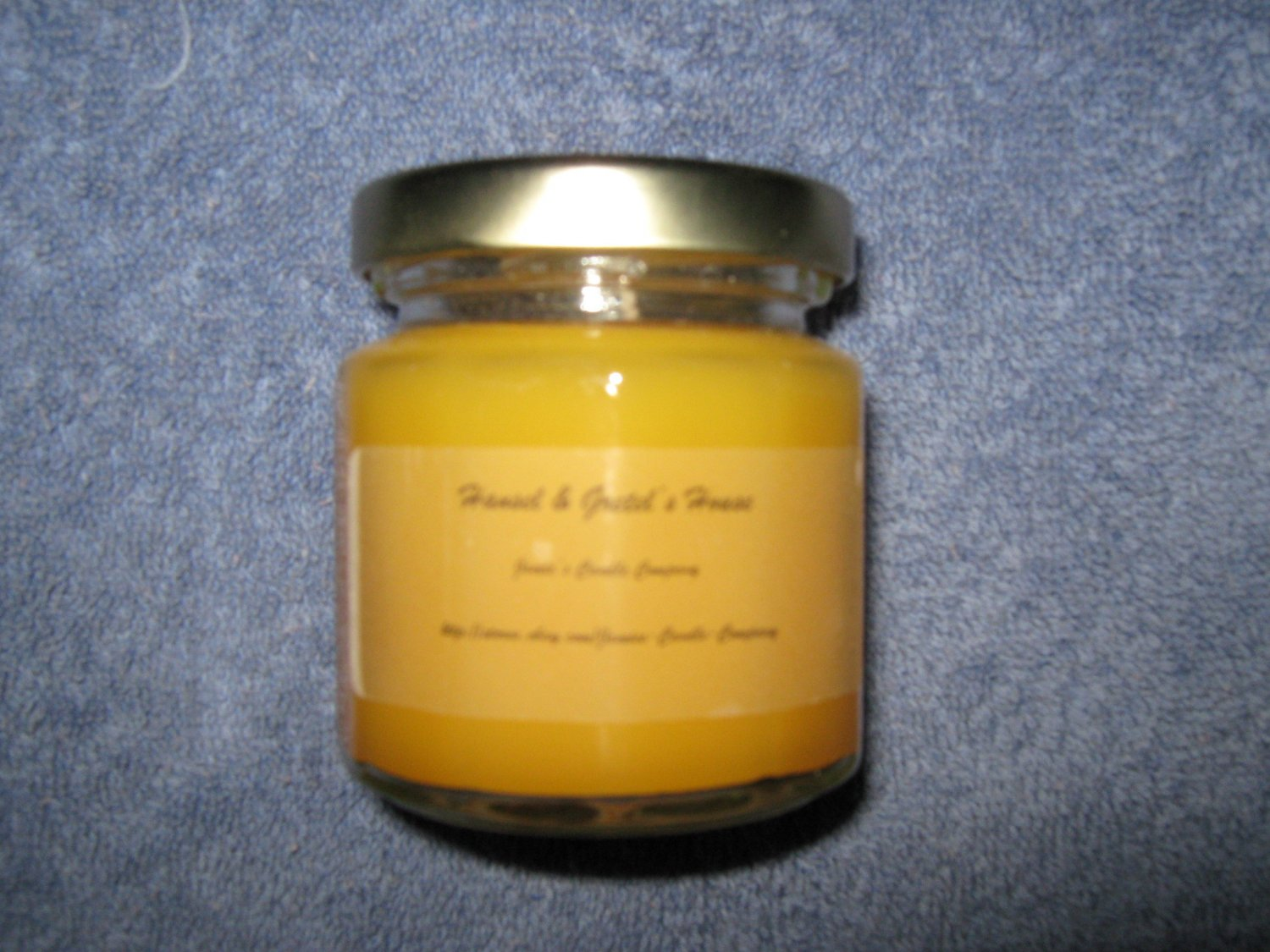 Hansel & Gretel's House 4 Ounce 12 Sided Classic Jar Candle