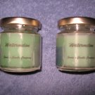 Watermelon 4 Ounce 12 Sided Classic Jar Candle