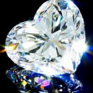 Heart Shape Diamond 3 Carat D Color  IF Clarity Very Good Cut Excellent Polish GIA Verifiable Report