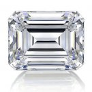 Emerald Cut Diamond 1 Carat D Color  IF Clarity Very Good Cut Excellent Polish GIA Verifiable Report
