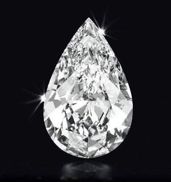 Pear Shape Diamond 1 Carat D Color IF Clarity Very Good Cut Excellent Polish GIA Verifiable Report