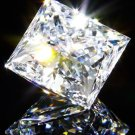 Princess Diamond 1 Carat D Color IF Clarity Very Good Cut Excellent Polish GIA Verifiable Report