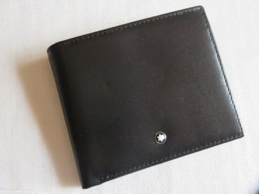 MB Top Grain Leather Wallet 04CC