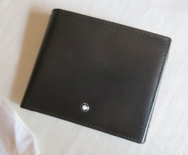 MB Top Grain Leather Wallet 08CC