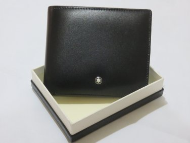 MB Top Grain Leather Wallet 11CC