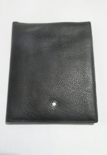MB Genuine Leather Passport Holder Wallet