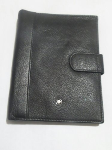 MB Genuine Leather Document & Passport Holder Wallet A6