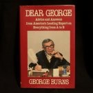 Dear George Book by George Burns