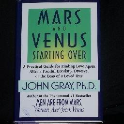 Mars & Venus Starting Over by John Gray Hard Cover