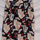 Casino Gambler Poker Gambling Wrap Skirt S Misses 4