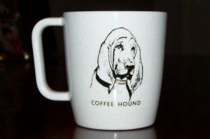 Vintage Coffee Hound Dog Coffee Mug Cup Hattie 1965