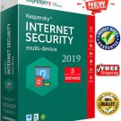 Kaspersky Internet Security Multi - Device 2020 3 YEAR 3 Device