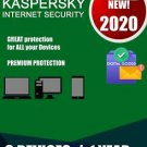 Kaspersky Internet Security 2020 Latest Version - 3 Users, 1 Year