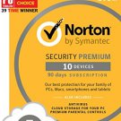 Norton Security Premium 90 days 10 Devices (not activ)✅